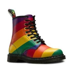 DR MARTENS Pride Multi Rainbow Boots